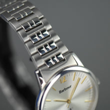 Load image into Gallery viewer, Barbour Beacon wrist watch silver dial and stainless steel bracelet