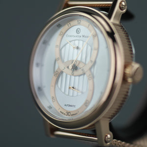Constantin Weisz Gold plated Gent's Automatic 20 jewels wrist watch milanese bracelet