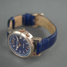 Load image into Gallery viewer, Moscow Time a World Timer Automatic wristwatch with blue dial