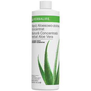 Băutură concentrată Herbal Aloe Vera Citrice 473 ml