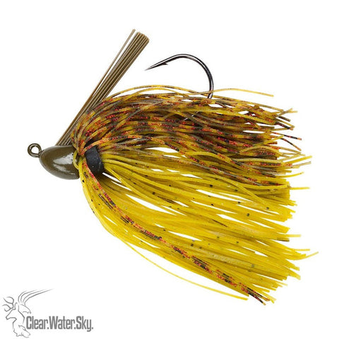 Booyah Baby Boo Jig 3/16 3D Watermelon Red