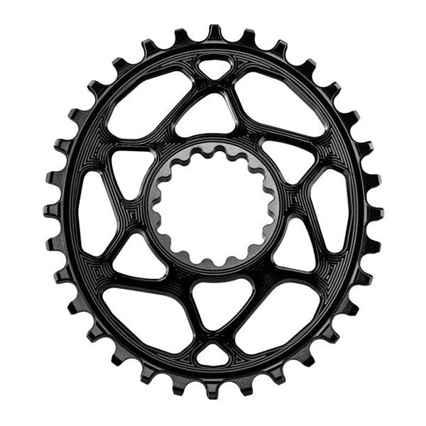 CORONILLA ABSOLUTE BLACK OVAL 32 SRM 6MM OFFSET GO - Focus Bikes