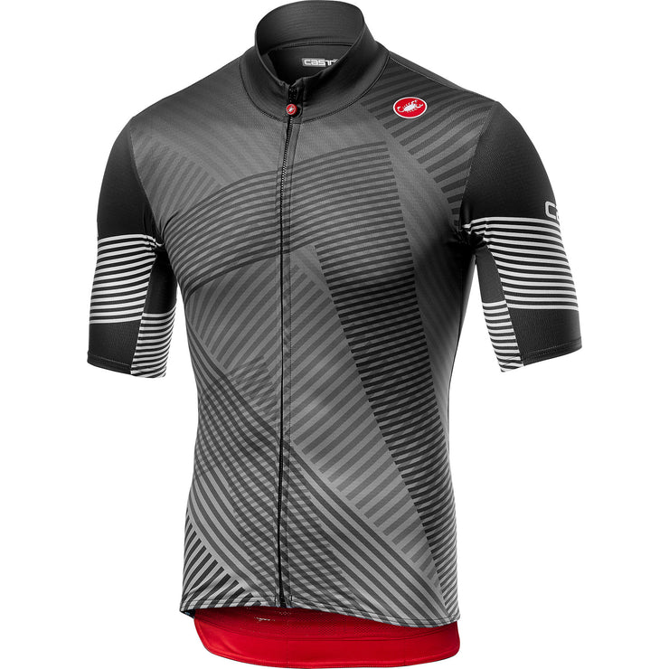 JERSEY CASTELLI MID WEIGHT SS DARK GRIS