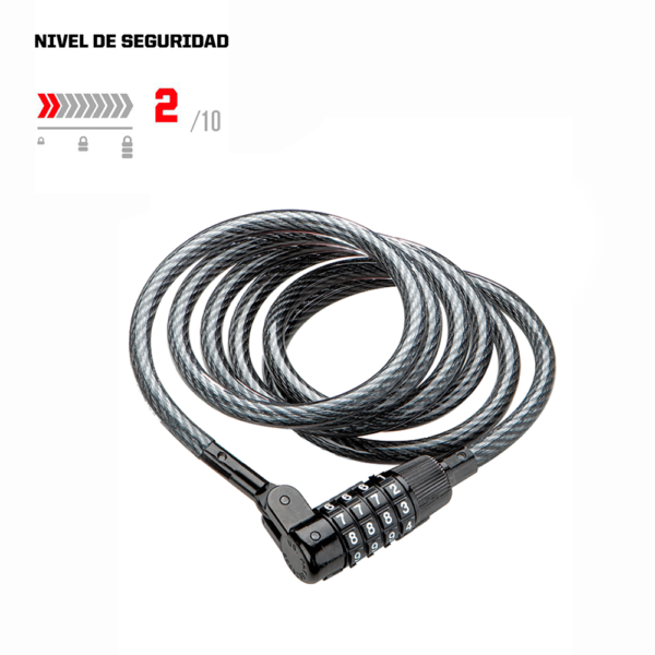 CANDADO KryptoFlex 815 Combo cable - Focus Bikes