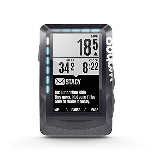 WAHOO ELEMNT GPS BIKE COMPUTER BUNDLE WITH TICKR R - Focus Bikes