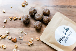 Walnuss Hagebutte Energy Balls