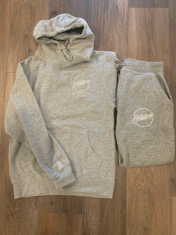 LOUD CIRCLE Premium Gray SWEATSUIT