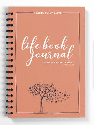 April 2021 Life Book Journal -- Digital Download