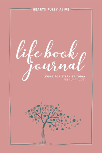 February 2021 Life Book Journal