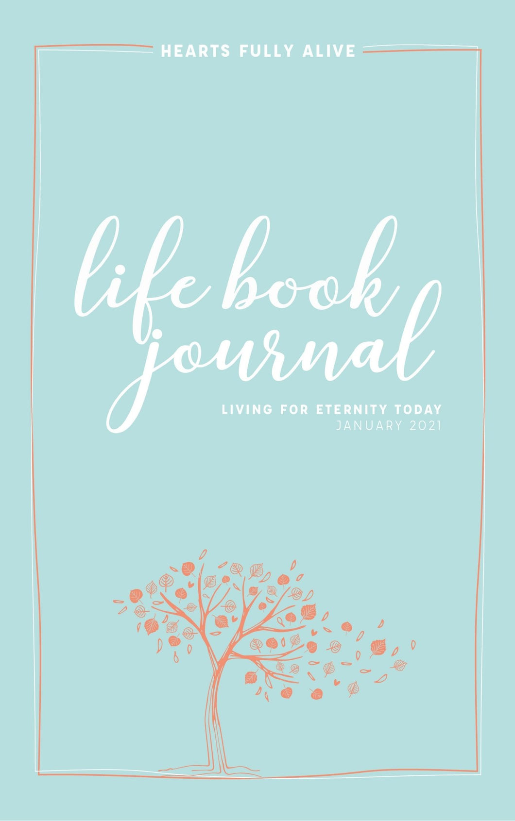 January 2021 Life Book Journal --Digital Download