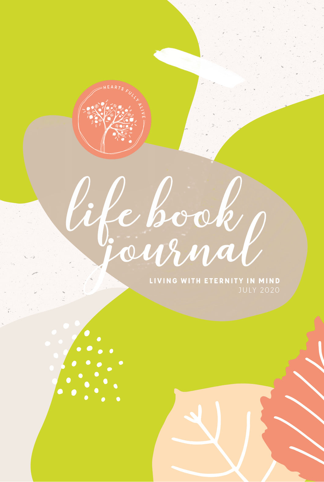 July 2020 Life Book Journal {E-planner}