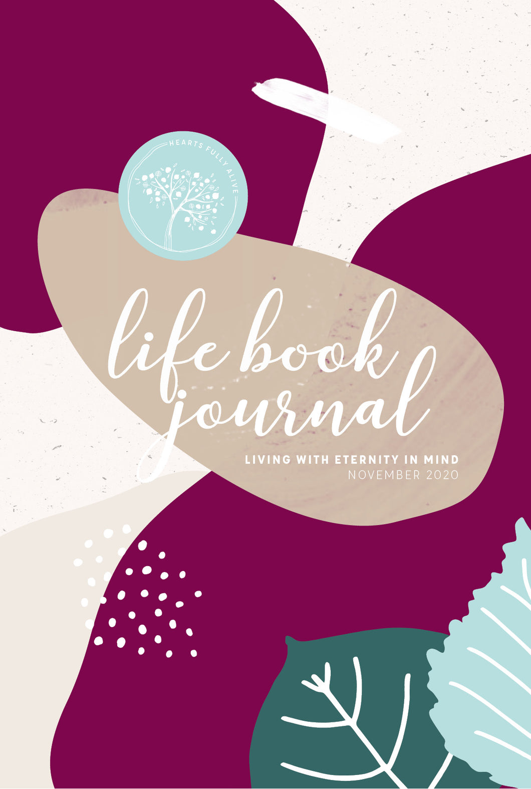 November 2020 Life Book Journal {E-Planner}