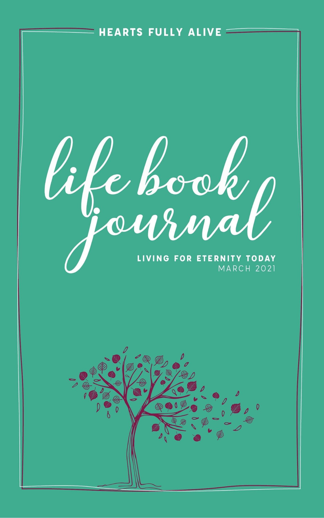 March 2021 Life Book Journal -- Free Digital Download