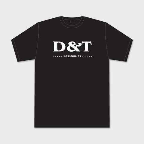 D&T Simple Black Tee