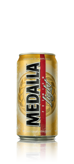 Medalla Light Lata 10oz 6Pack