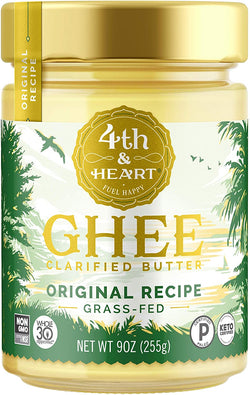 4 Th & Heart Ghee Clarified Butter Org Recipe