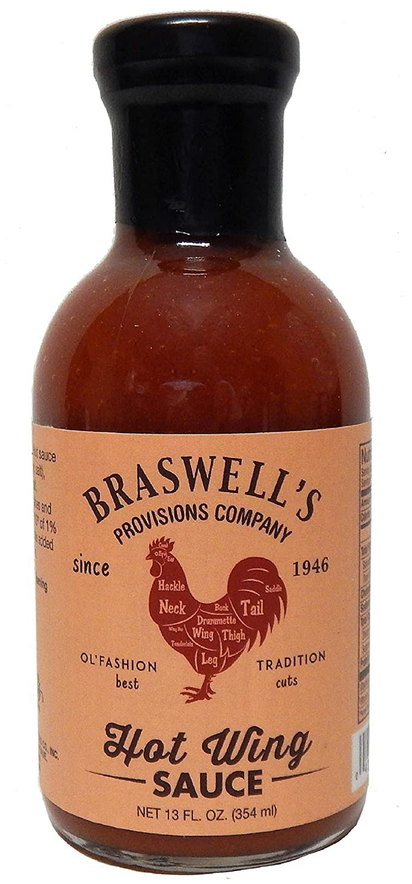 Braswells Hot Wings Sauce