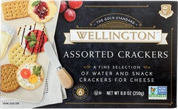 Wellington Assorted Crackers Water