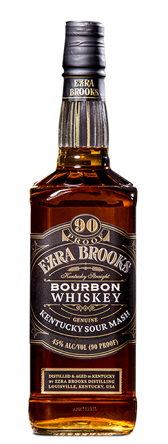 Ezra Brooks Straight Bourbon Whiskey