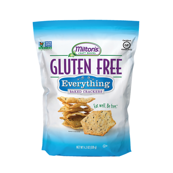 Miltons Everything Crackers Gluten Free
