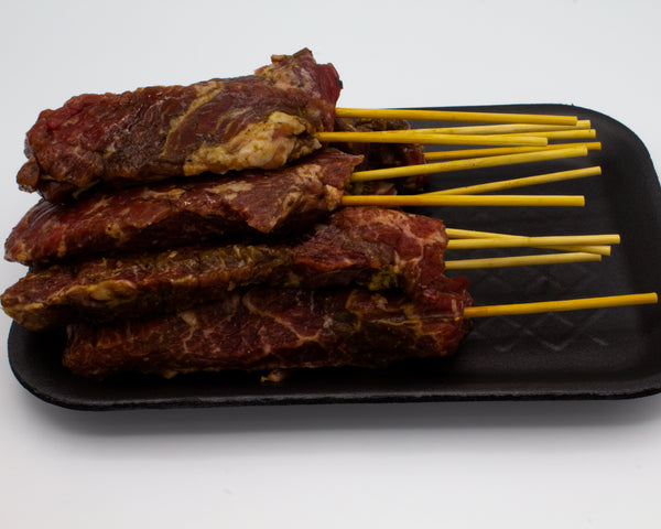 Beef Satay Sicks - Pincho Churrasco 12 Stick