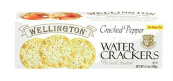 Wellington Crackers Pepper Water 4oz