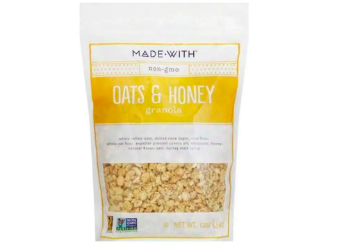 Made with Oats & Honey Granola