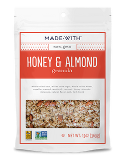 Made with Honey & Almond Granola