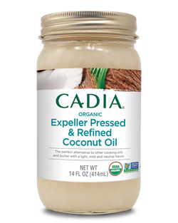 Cadia Org Coconut Oil Expeller Pressed & Refined
