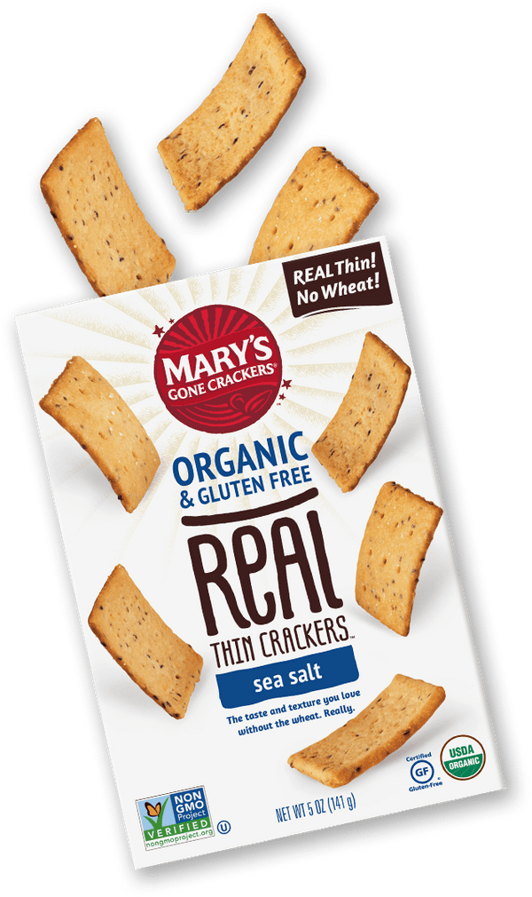 Marys Gone Crackers Org Sea Salt Gluten Free