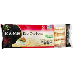 Kame Rice Crackers Sesame