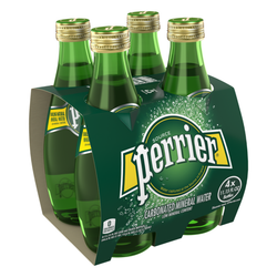 Perrier Mineral Water 4 Pack