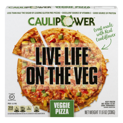 Caulipower Pizza Crust Live Life on The Veg