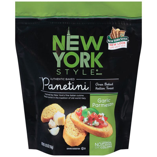 New York Panetini Garlic Parmesan