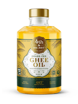 4th & Heart Ghee Oil Grass Fed