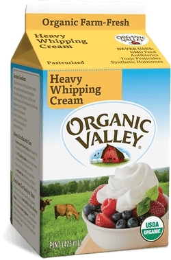 Org Valley Heavy Whipping Cream 8oz