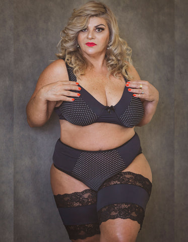 Faixa Anti Atrito Renda Plus Size - Divas Plus