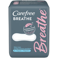 Carefree Breathe Regular Liners - Pack of 16