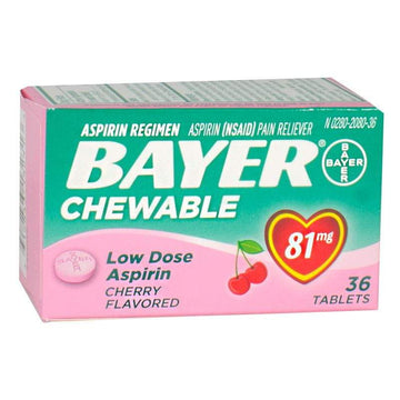 Bayer Low Dose Aspirin - Box of 36