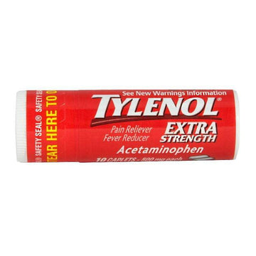 Tylenol Extra Strength Vial - Vial of 10