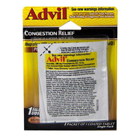 Advil Congestion Relief Carded - Card of 1