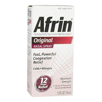 Afrin 12 Hour Nasal Spray - 0.5 oz.