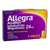 Allegra Allergy 24 Hour Relief - Box of 5