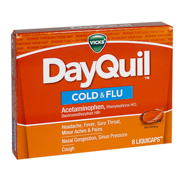 DayQuil Cold & Flu - Box of 8