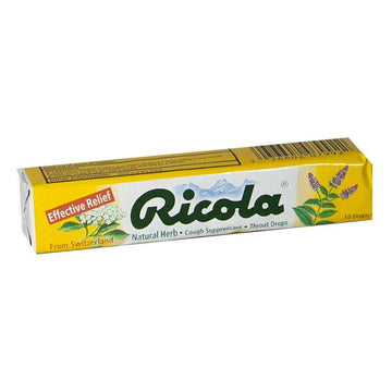 Ricola Natural Herb Throat Drops - Stick of 10 Drops
