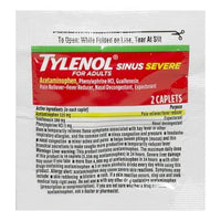 Tylenol Sinus Severe - Pack of 2