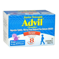 Advil Junior Strength Ibuprofen Chewables - Box of 24