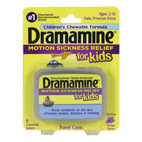 Dramamine for Kids Chewable Tablets - Card of 8