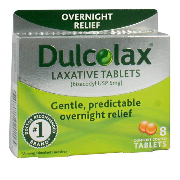 Dulcolax Laxative Tablets - Box of 8