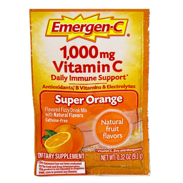 UNAVAILABLE - GO TO ITEM #13999 - Emergen-C Super Orange - Pack of 1